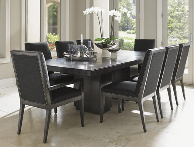 High Quality Lexington Dining Set   Gray