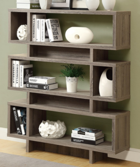 Modern Bookcase For An Office Wood Monarch