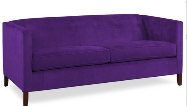 Purple sofa purple sofa no way or yes please thesofa for Sectional sofas yes or no