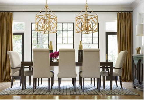 Modern California Dining Set. Price: $4,305.00. California 9 Piece Dining  Set By Universal Furniture ...