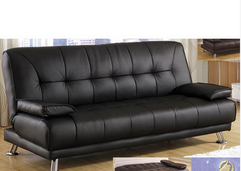 Black Convertible Sleeper Sofa