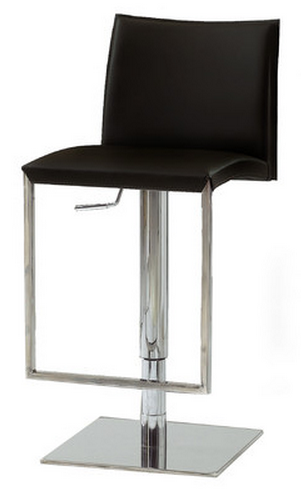 Bellini Modern Black Bar Stool