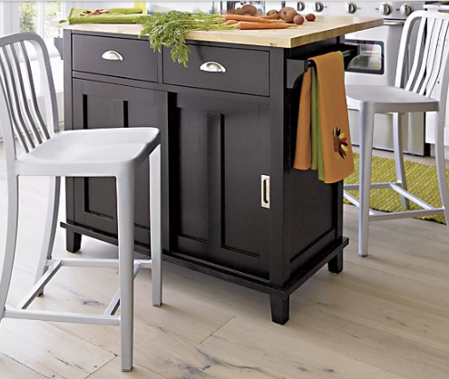 Charmant Belmont Black Kitchen Island