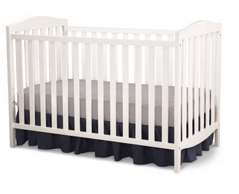 Delta Children White Convertible Crib