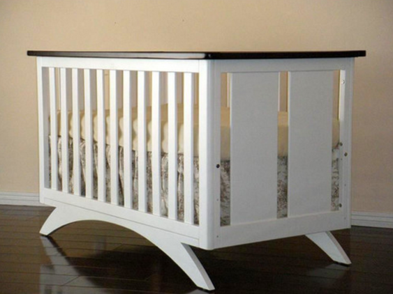 eden Baby Furniture White Convertible Crib