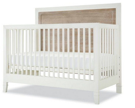 Hanover White Convertible Crib