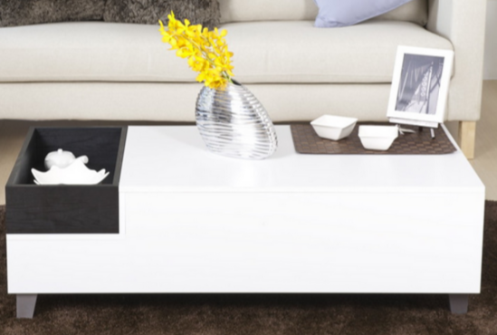 7 Black And White Coffee Tables For A Modern Living Room Cute