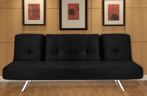 Irvine Black Sleeper Sofa