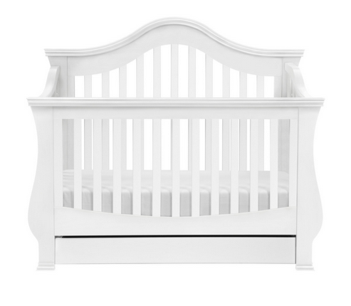 Million Dollar Baby White Crib