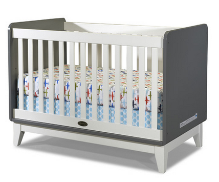 Zutano White Convertible Crib
