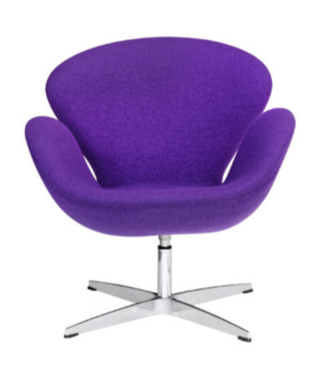 Modern Purple Arm Chair