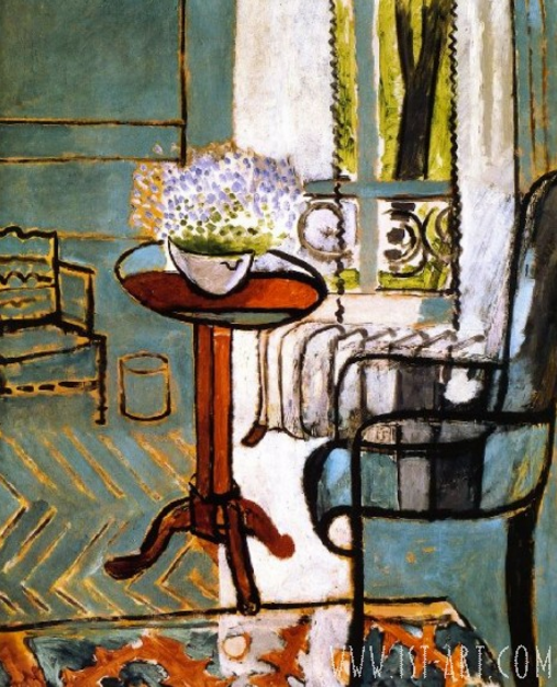 Oil Painting Window by Henri Matisse