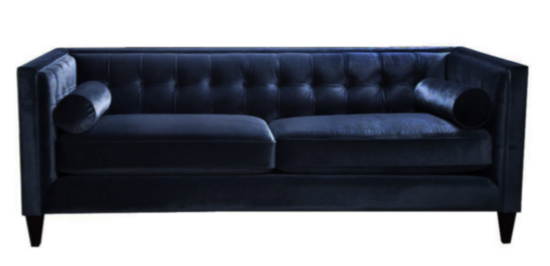 Navy Sofa by Dwell Studio