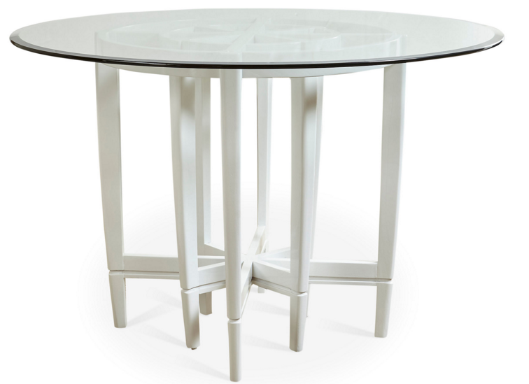 Modern dining table round modern dining table round the for Cute kitchen tables