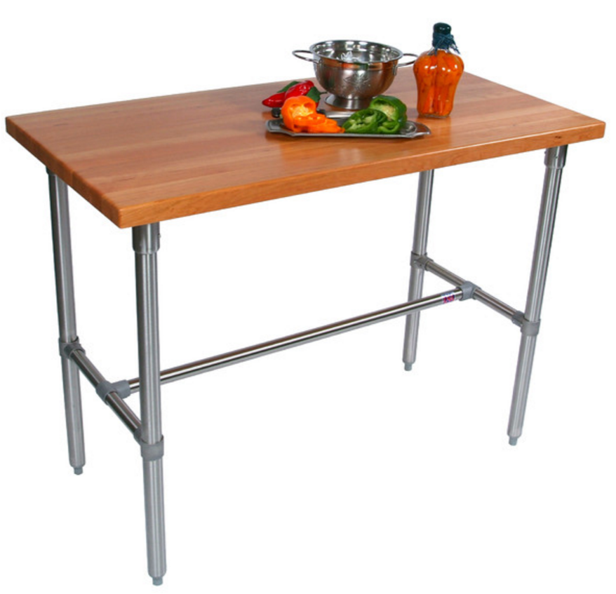 John Boos Cucina Americana Counter Height Extendable Dining Table