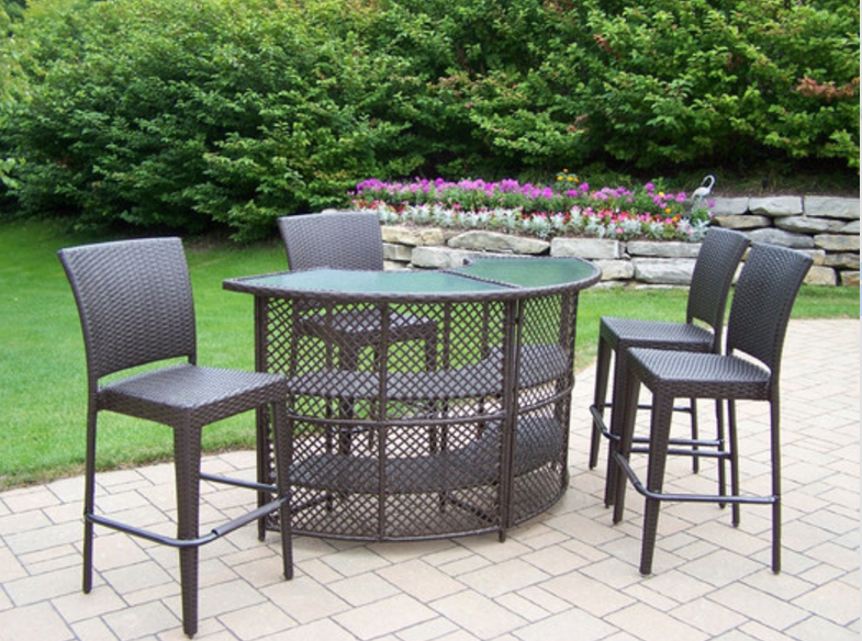 6 Great Bar Sets For Outdoor Cute Furniture