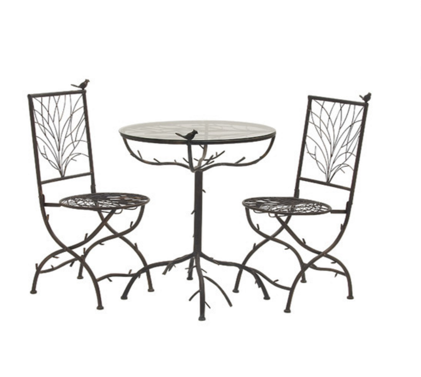 Woodland Imports 3 Piece Simply Too Cool Pub Table Set  sc 1 st  Cute Furniture & 6 Contemporary Black Pub Table Sets - Cute Furniture