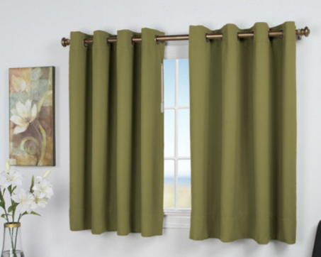 Ricardo Trading Ultimate Black-Out Short Single Curtain Panel
