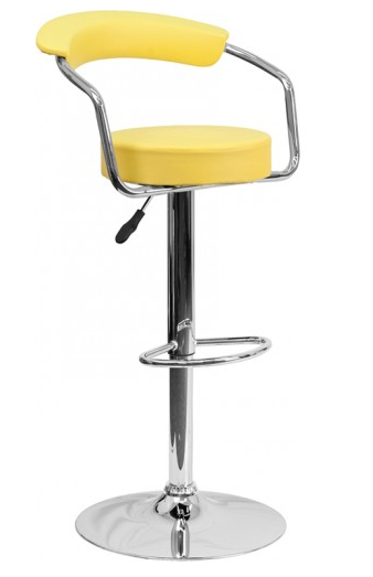 Fantastic Top 10 Yellow Bar Stools For Your Home Cute Furniture Caraccident5 Cool Chair Designs And Ideas Caraccident5Info
