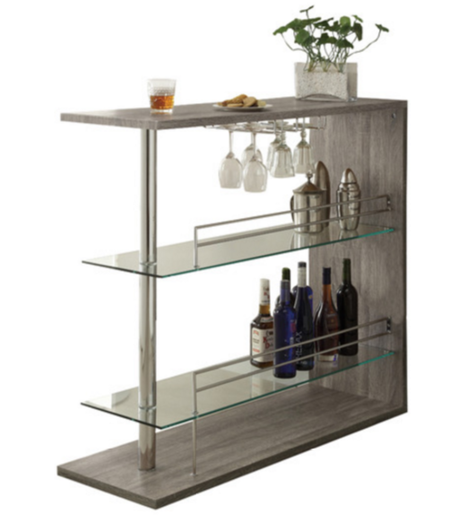 Wildon Home ® Bar with Wine Storage  sc 1 st  Cute Furniture & 7 Bars With Wine Storage For a Contemporary Home - Cute Furniture