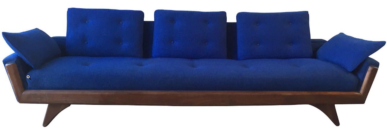 Mid Century Modern Sofa Mid Century Modern Sofa Fab Finds  : Adrian Pearsall Style Sofa from www.theloanz.com size 1294 x 455 png 765kB