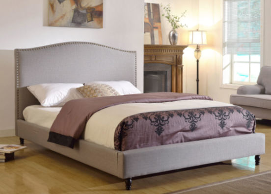 Darby Home Co Upholstered Platform Bed