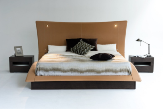 Modrest Upholstered Platform Bed