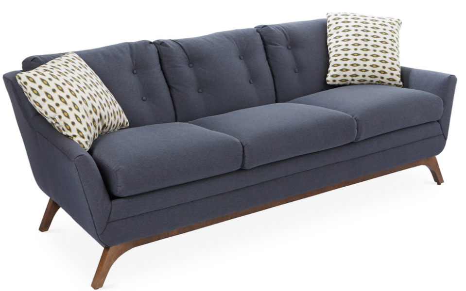 Mid Century Modern Sofa Custom Made In Usa 1st Choice  : Volny 83 Sofa from hide-ip.us size 959 x 600 png 660kB
