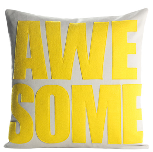 alexandra-ferguson-awesome-throw-pillow