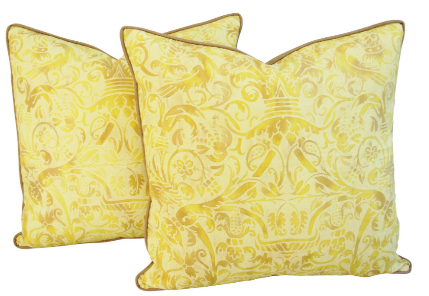 italian-fortuny-uccelli-pillows-pair