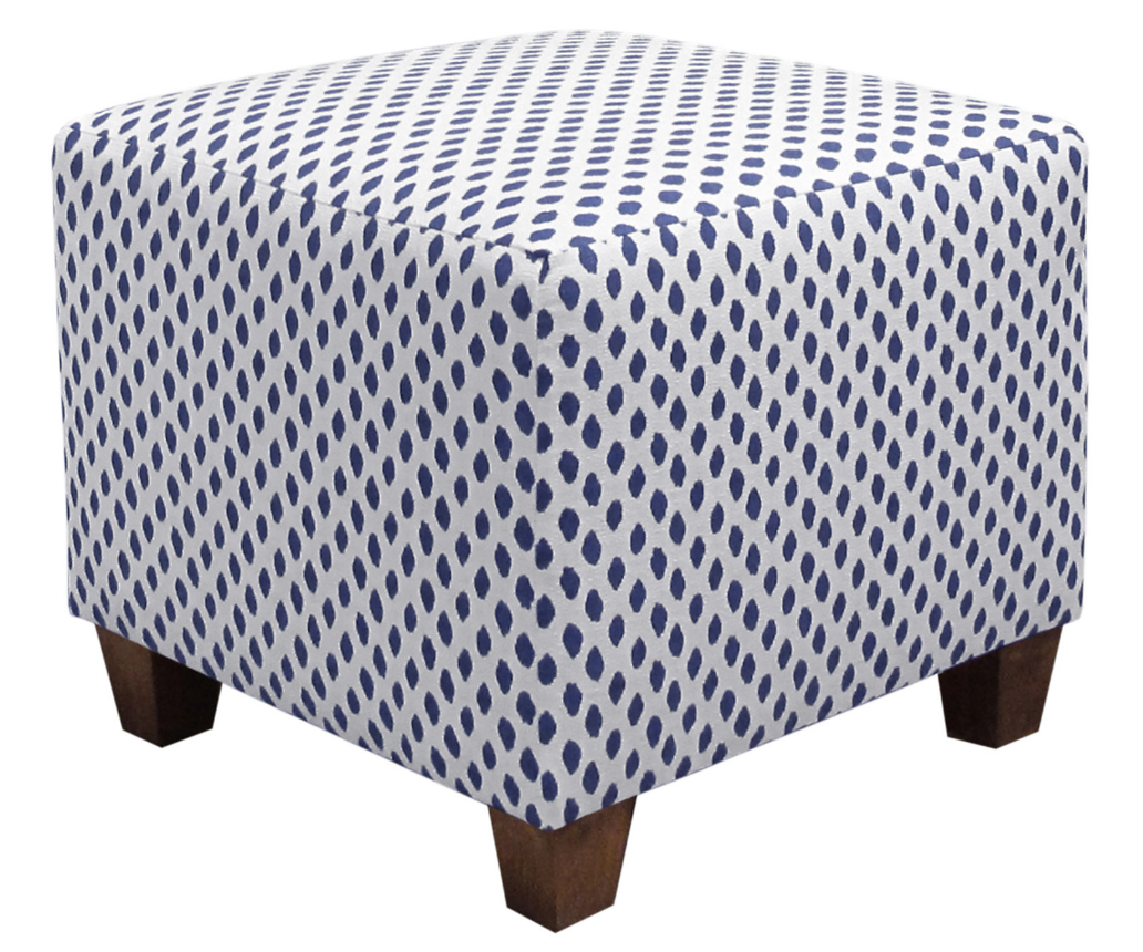 8 Chic Blue Ottomans For Your Modern Home