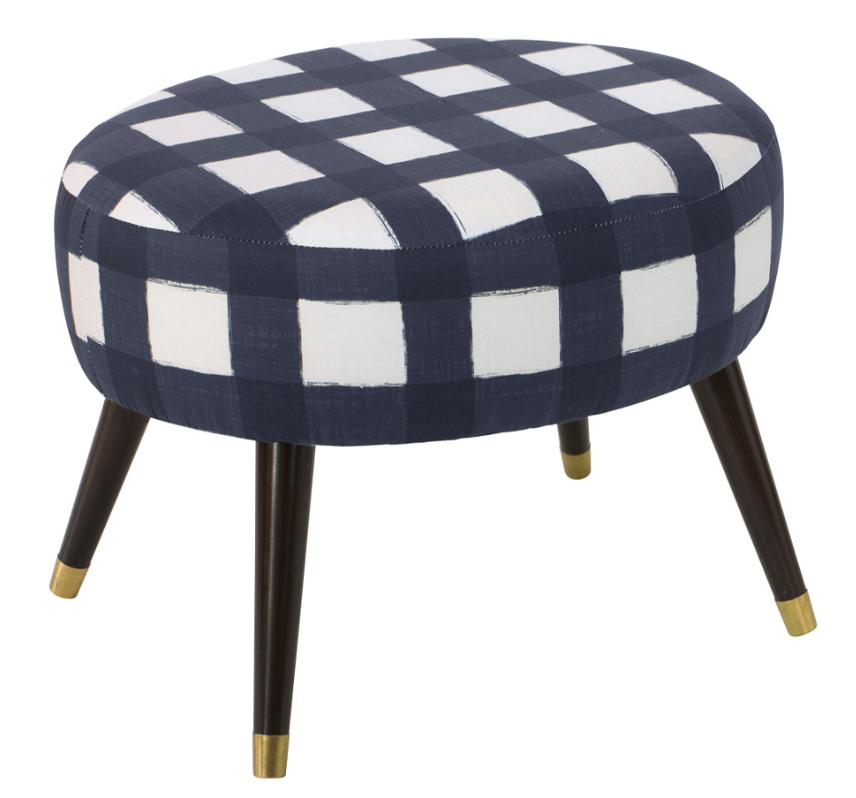 8 Chic Blue Ottomans For Your Modern Home Cute Furniture