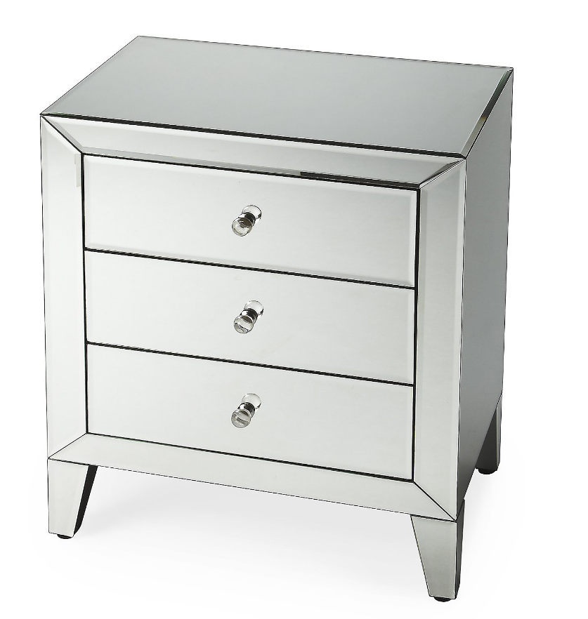 Mirrored Nightstand Amazing Affordable