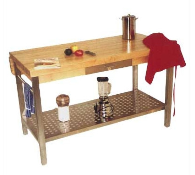 John Boos Cucina Grande Prep Table With Butcher