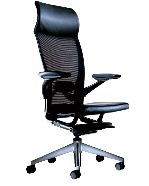 8 stylish black leather high back executive chairs cute for Cute black chairs