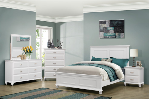 7 Classic White Bedroom Sets Cute Furniture
