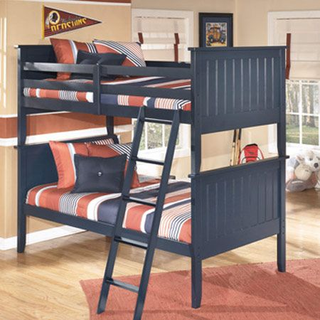 bunk-bed-blue
