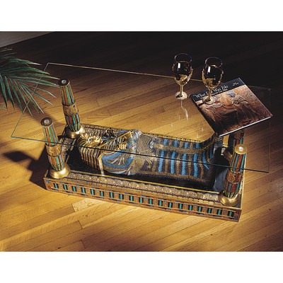 design-toscano-egyptian-luxor-sculptural-glass-topped-coffee-table