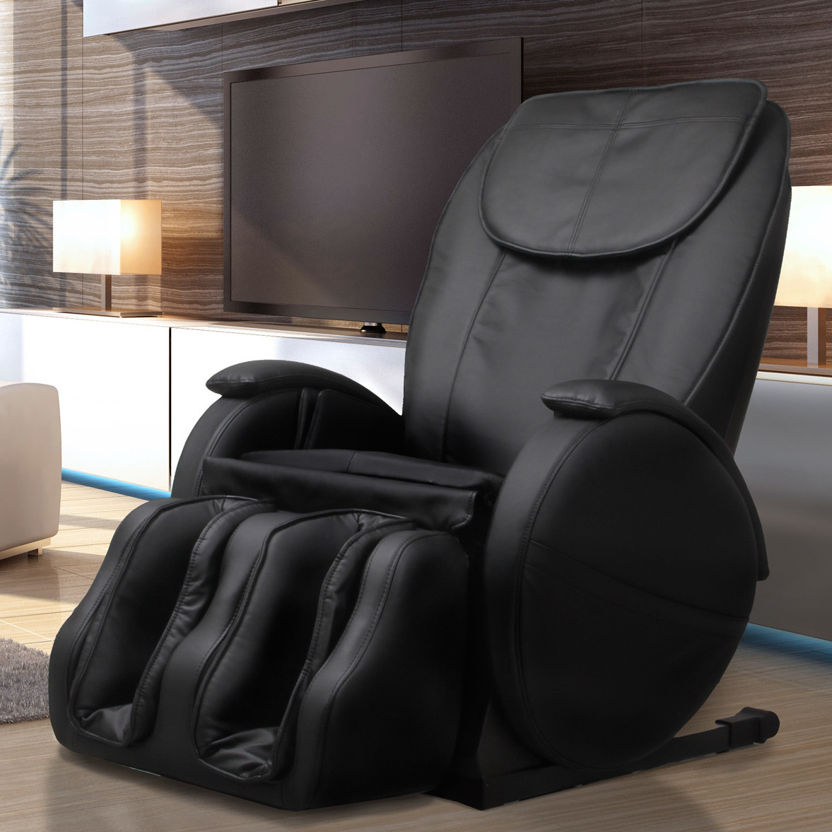 5 luxurious zero gravity massage chairs for your home for Living room zero gravity chair