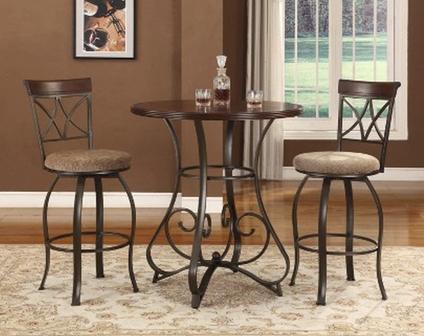 6 Beautiful And Elegant Pub Table Sets Of 3 Cute Furniture