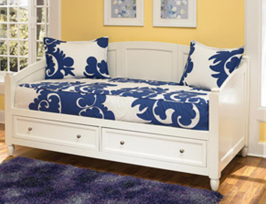 7 White Daybeds With Storage Drawers