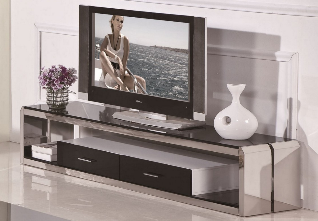 Top 10 modern tv stands for your living room cute furniture - Dresser as tv stand in living room ...