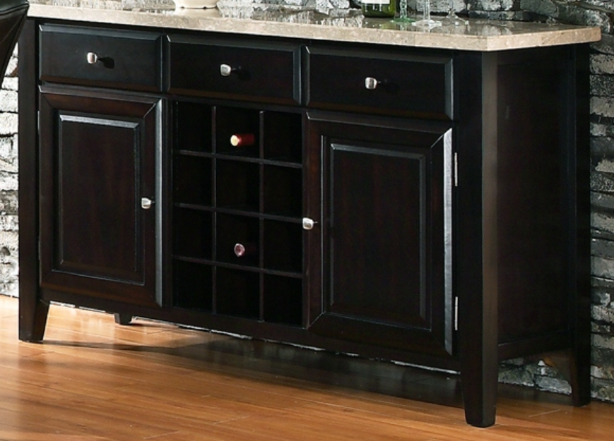Marble Top Server Buffet