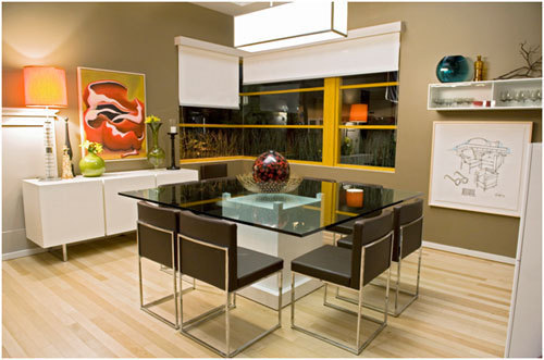 Modern Family Dining Room