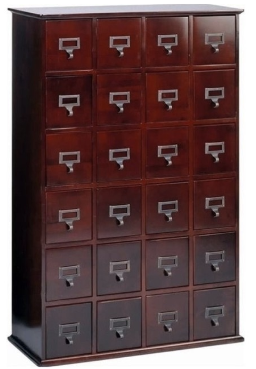 bowery-hill-24-drawer-cd-media-storage-cabinet-cherry