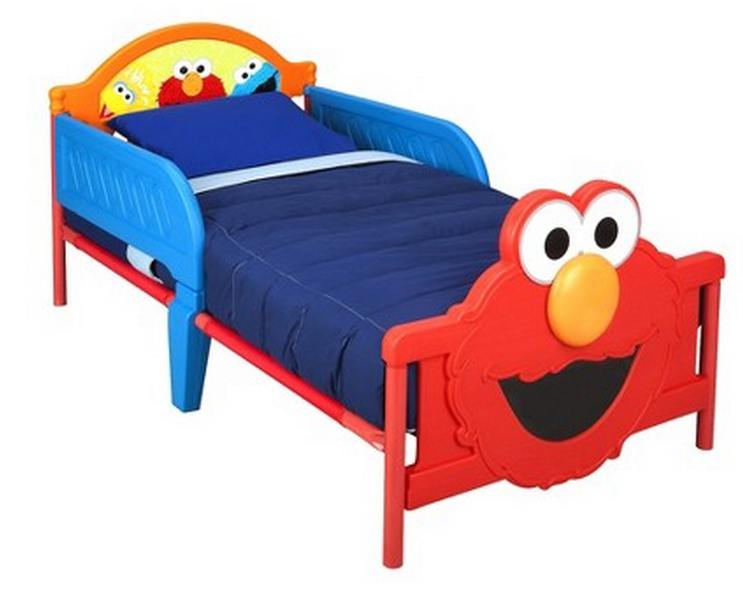Toddler Bed Elmo
