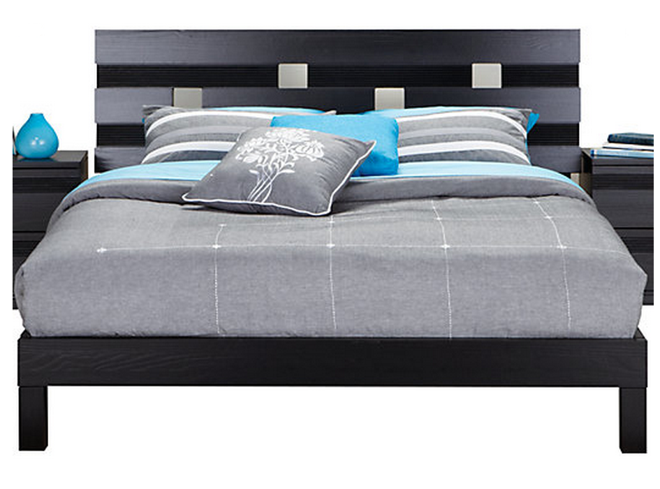 Beautiful Black King Size Bed