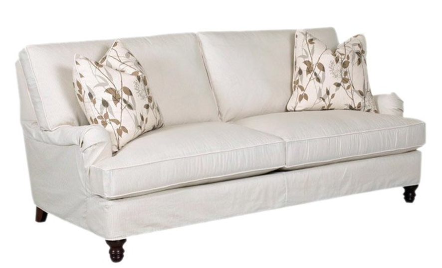 Decorate An Apartment In FRIENDS Style Monicas  : Klaussner Furniture Lena Sofa from www.cute-furniture.com size 886 x 539 png 496kB