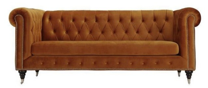 liza-sofa-burnt-orange-traditional