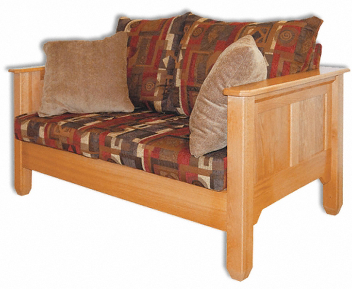Amish furniture shaker loveseat